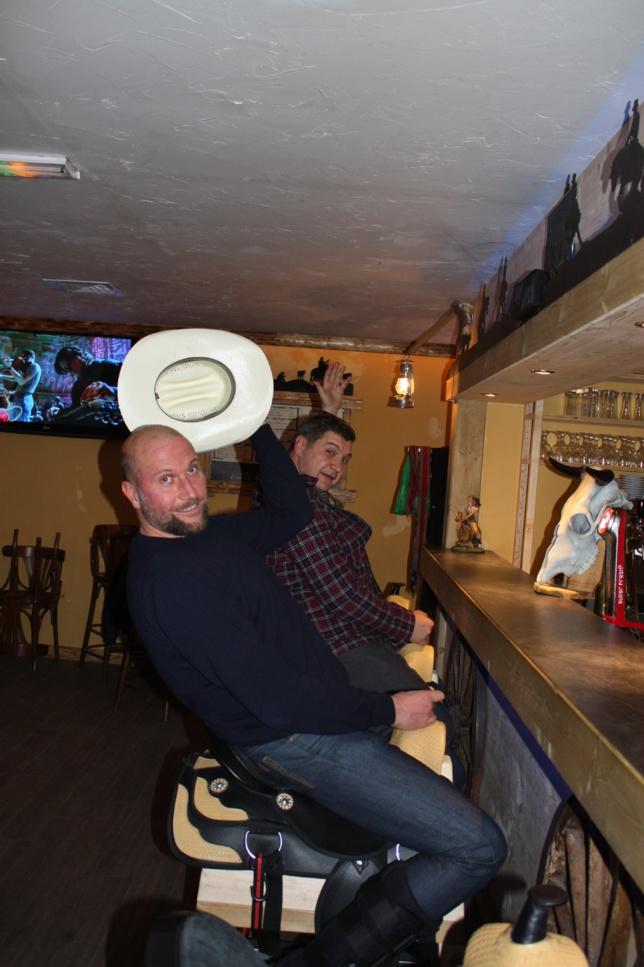 François Damiens et Thomas Bidegain au Cowboy Barn
