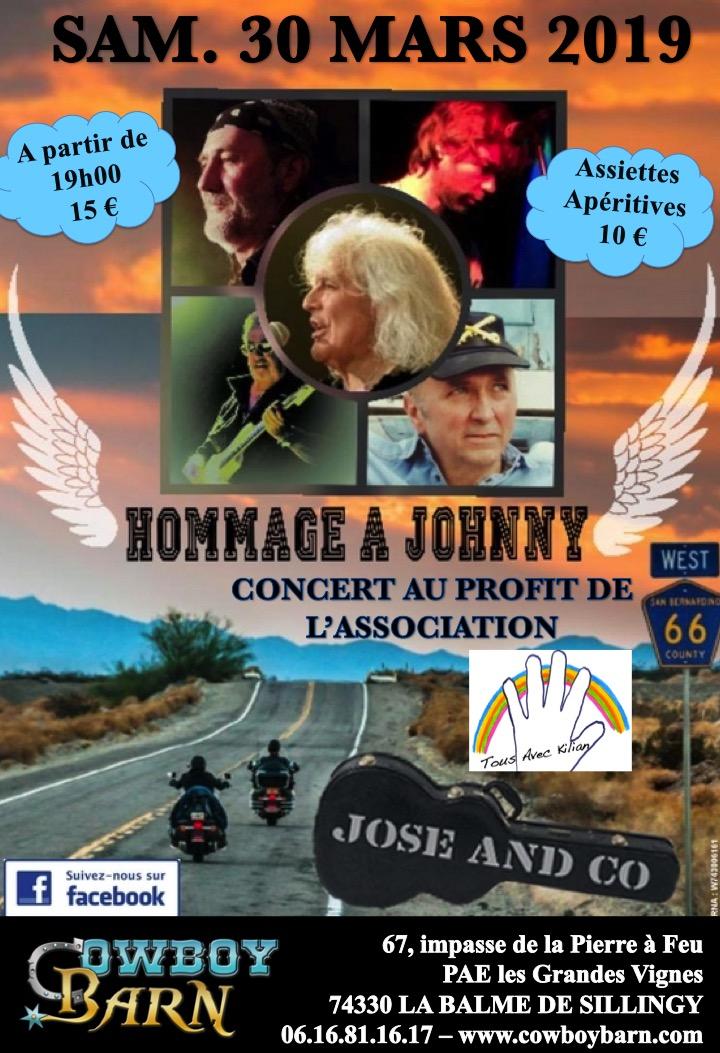 HOMMAGE A JOHNNY @ Cowboy Barn