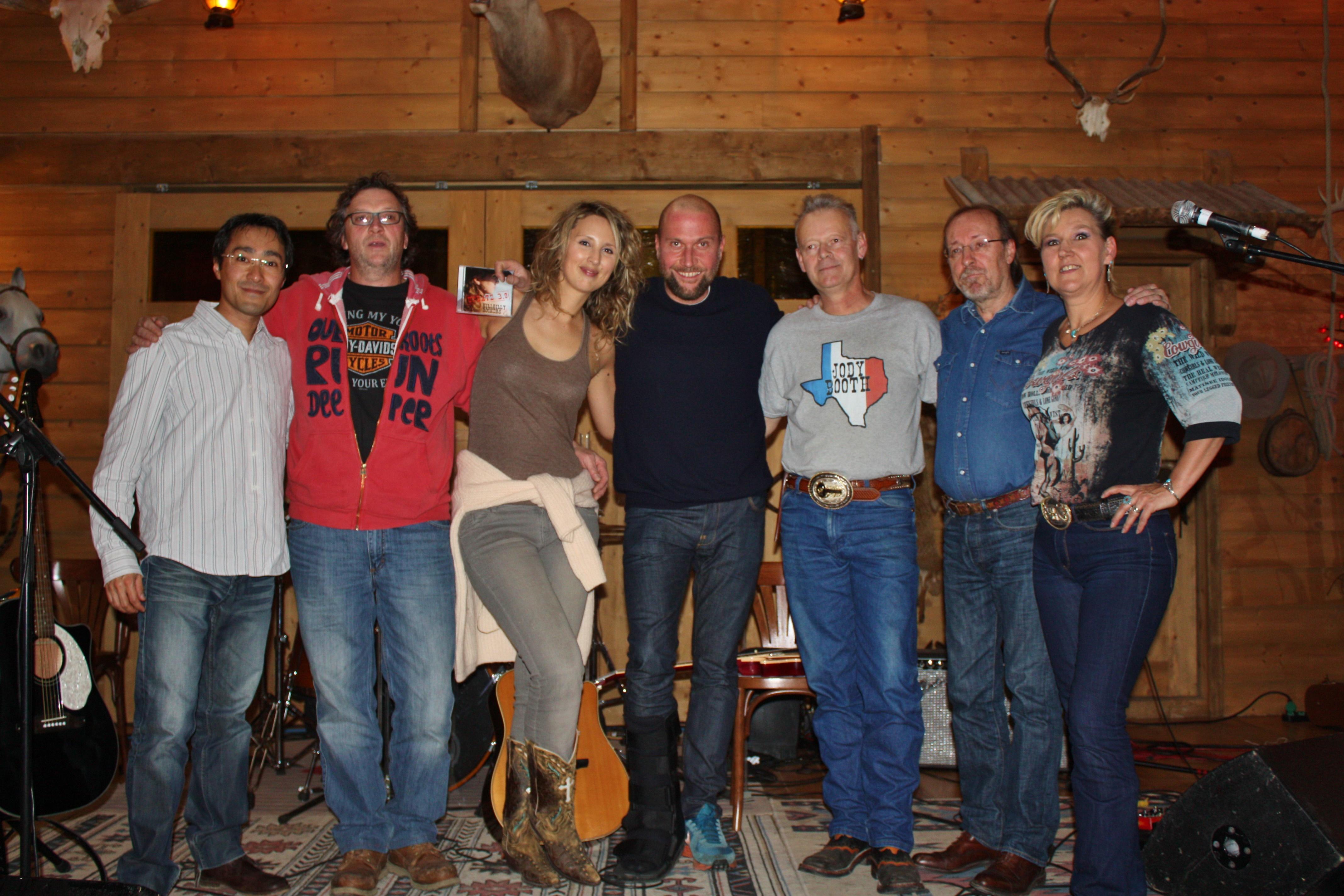 Hillbilly Rockers, Claudine et François Damiens au Cowboy Barn