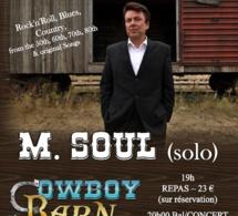 M. SOUL @ Cowboy Barn