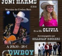 Joni Harms au Cowboy Barn